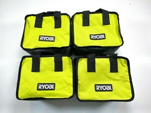 "LOT OF 4 Ryobi Tool Bag 10""x8""x6"" Case For Tools, Crafts, General Tote Bag NEW"