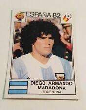 Figurina/Sticker PANINI WORLD CUP ESPANA 82 - N° 176 - MARADONA - ORIGINALE