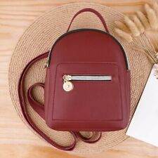 Women Girl Shoulders Small Backpack Letter Casual Mobile Phone Messenger Bags CA