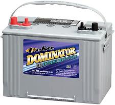 DEKA GENUINE NEW 8G27M GEL MARINE DOMINATOR 700AMP CRANKING POWER BATTERY