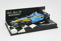 MINICHAMPS 1/43 - Renault F1 Team R25 Fernando Alonso 2005 400050005