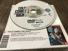 Cold Comes The Night (DVD, 2014) DISK ONLY