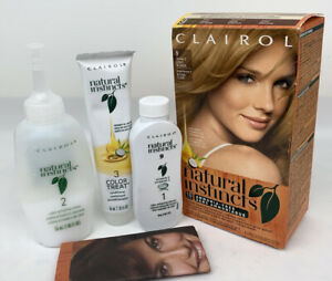 NEW Clairol Natural Instincts Hair Color 9 Light Blonde Former #2 Unsealed Box