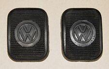 VW Pedal Pads Beetle 53 55 57 Volkswagen Oval Convertible Barndoor Bus Karmann