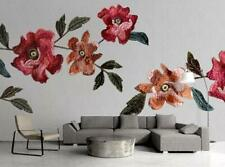 3D Embroidered A77 Wallpaper Wall Mural Removable Self-adhesive Sticker Zoe