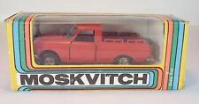 UDSSR USSR 1/43 Moskvitch Pick Up rot OVP #256