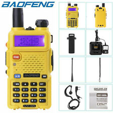 BAOFENG UV-5R Two Way Ham Radio Dual Band 136-174/400-520Mhz 5W Walkie Talkie UK