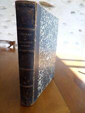Louis Blanc La Révolution Française tome 1 relié cuir 1868