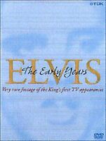 Elvis Presley The Early Years rare footage And first Tv appearances DVD Nuovo