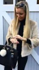 Zara Faux  Fur Jacket Size Small BNWT RRP £79.99