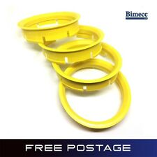 BIMECC Quality Spigot Rings Wheel Spacer 72.6 - 65.1 BMW VW T5 Set of 4
