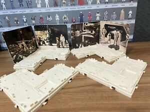 Star Wars Vintage ESB Display Arena Mail-away Action Figure Stands Kenner 1981