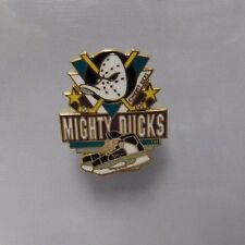 Mighty Ducks Of Anaheim Licensed NHL Hockey 1x1 Inch Pin Rare