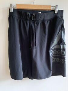 Men's Reebok Speedwick Crossfit Shorts Size Medium Black