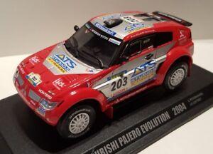 MITSUBISHI PAJERO EVO 2004  Paris-Dakar Rallye 1:43 Norev Metallmodell Diecast