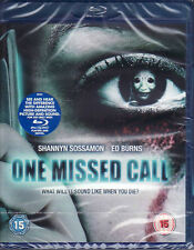 One Missed Call  - Blu Ray - Brand New & Sealed