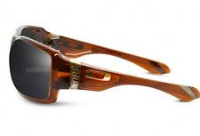 NEW Oakley Big Taco Sunglasses-Dark Amber Brown-Grey Lens-SAME DAY SHIPPING!