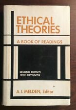 Ethical Theories: A Book Of Readings (1967, Hardcover) A Melden PreOwnedBook.com