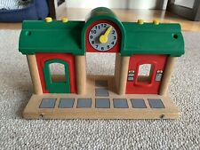Brio Wooden Railway 33578 Reocrd And Play Station. As-Is.