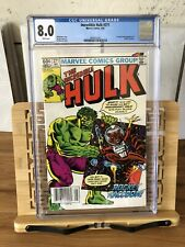 "The Incredible Hulk #271 💥CGC 8.0💥 First App. ""Rocket Raccoon"" White Pages"