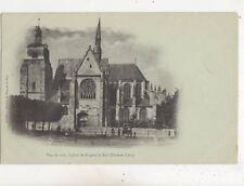 Eglise de Nogent Le Roi France Vintage U/B Postcard 615b