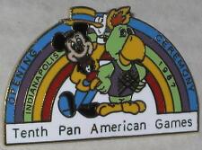 1987 Mickey Mouse Pan Am Games Lapel Pin