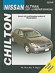 2007-2010 Chilton Nissan Altima Repair Manual