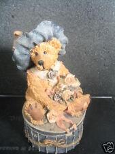Boyds Victoria The Lady Bear Trinket Box Mib
