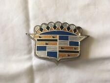 1952 Cadillac Trunk Crest Emblem W/bezel