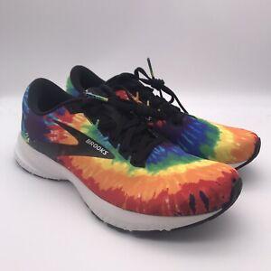 Brooks Launch 7 Rock N Roll Tie Dye Running Shoes 1103241D913 Size 9.5