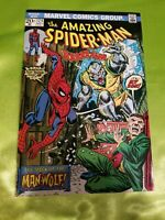 Amazing Spider-man #124, FN- 5.5, 1st Appearance Man-Wolf