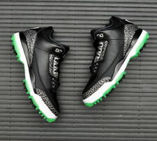 Nike Air Jordan 3 Retro Golf Black Green Glow AJ3783-001 UK7 UK11 EUR41 EUR46 TN