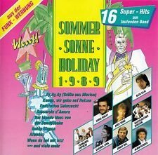 SOMMER - SONNE - HOLIDAY 1989 / CD - TOP-ZUSTAND