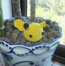 Handmade Cat Toy, Pikachu crochet with catnip, 1 pc Pokemon