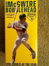 Oakland Athletics A's MARK McGWIRE 1987 ROOKIE OF THE YEAR BOBBLEHEAD SGA NEW