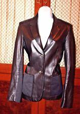 THE ROW Women's Leather BLAZER Jacket size 6