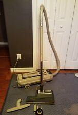 Electrolux Auto Control Canister Vacuum Cleaner w hose and tools & power nozzle