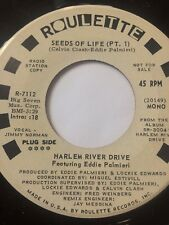 "LATIN SOUL FUNK PROMO 45/ HARLEM RIVER DRIVE ""SEEDS OF LIFE""  CLEAN  HEAR"