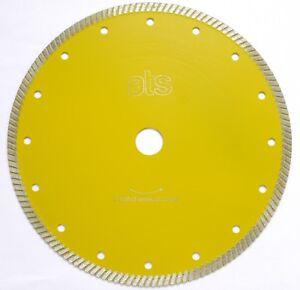 ATS Turbo Diamond Blade for hard 20mm vitrified external porcelain paving tiles