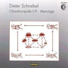 Schnebel: Choralvorspiele I & II, New Music