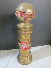 Vintage Schlitz Beer Keg Tap Cover Top Marker Kegerater Light RARE