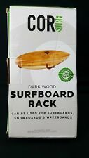 Surfboard Wall Rack for Long Boards and Short Boards.
