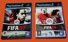 FIFA 07 & FIFA 08 - DVD's SET - PS2