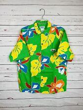 9d600a23e48de Vtg Original JAMS World Surf Line Hawaii Size M Hawaiian Floral Camp Shirt  NOS