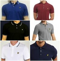 Lyle and Scott Short Sleeve Polo T Shirt Stock Clearance Sale