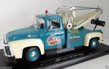 Modellini statici di auto , furgoni e camion neri marca WELLY ford