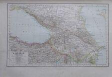 Karte aus 1889 - Kaukasus - alte Landkarte old map