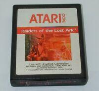 ATARI 2600 Game RAIDERS OF THE LOST ARK - Cartridge