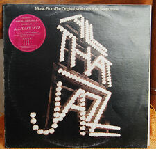 VARIOUS ‎– ALL THAT JAZZ - MUSIC FROM THE ORIGINAL MOTION PICTURE SOUNDTRACK	 LP