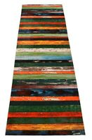 Custom Size Nature Hardwood Multi Color Non Skid Rug Runner Cut to Size Rugs